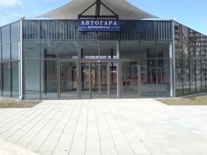 Новата автогара в Крумовград