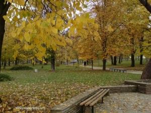 Есенен изглед от стария парк