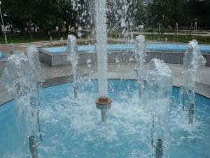 Новия фонтан на Крумовград