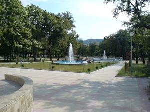 Новите фонтани на Крумовград