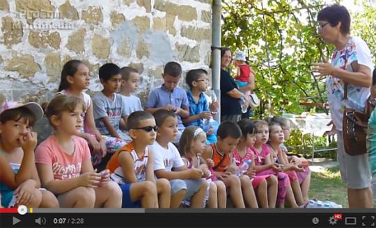 Зеленото училище на екскурзия в Батковци