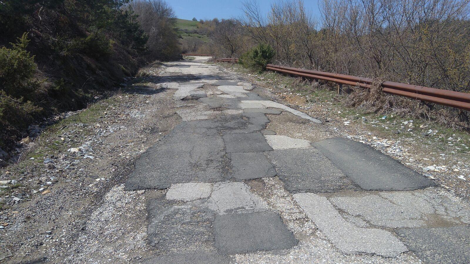 Започва ремонтът на пътя през Токачка