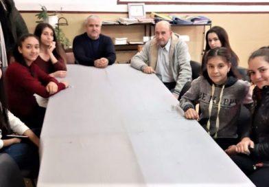 Клубът на младия журналист в гимназията по транспорт в Крумовград с нови попълнения