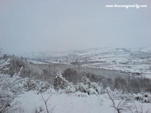 Крумовград изглед от хижата
